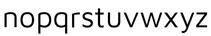 Maven Pro VF Beta Regular Font LOWERCASE