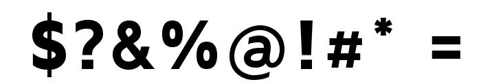 MavenProBlack Font OTHER CHARS
