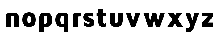 MavenProBlack Font LOWERCASE