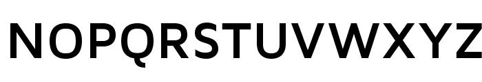 MavenProBold Font UPPERCASE
