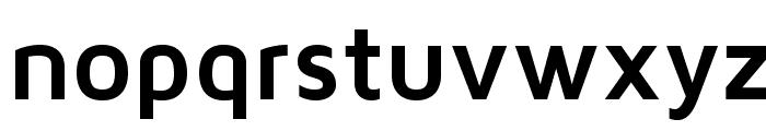 MavenProBold Font LOWERCASE