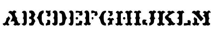 Maverick JL Font UPPERCASE