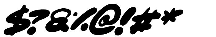 Maxi Marker Italic Font OTHER CHARS