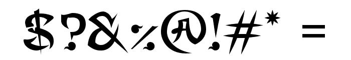 MaximageGimbadong Font OTHER CHARS