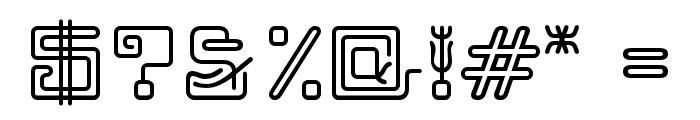 MaximageZhiLong Font OTHER CHARS