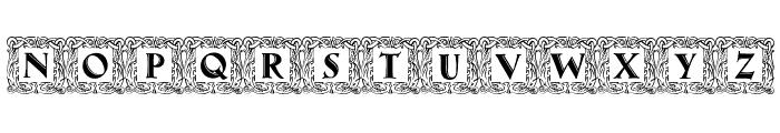 Maximilian Antiqua Initialen Regular Font UPPERCASE