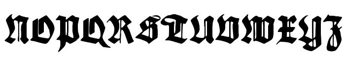 Maximilian Font UPPERCASE