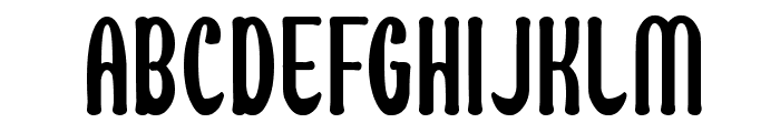 Maximum High Tension Font UPPERCASE