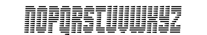Maximum Security Font UPPERCASE