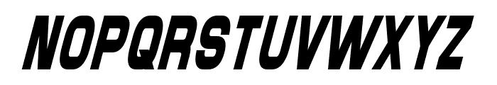 Maximus Condensed Italic Font UPPERCASE