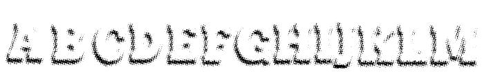 Maxxi Dots Shadows Bold Font UPPERCASE
