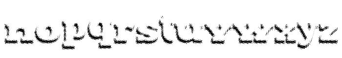 Maxxi Dots Shadows Bold Font LOWERCASE
