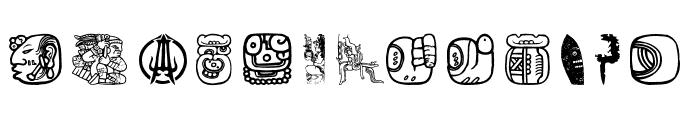 Maya Allstars Font UPPERCASE