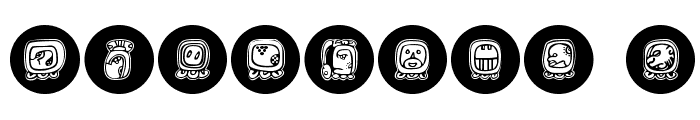 MayaKowski-Discs Font OTHER CHARS