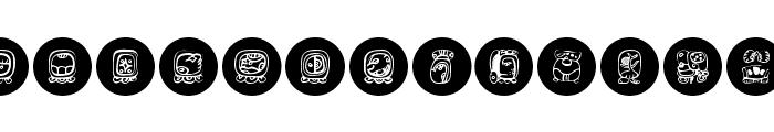 MayaKowski-Discs Font UPPERCASE