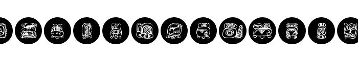 MayaKowski-Discs Font LOWERCASE