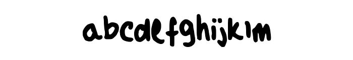 Maya_s_Script Font LOWERCASE