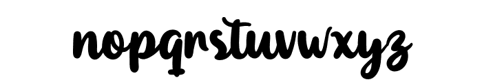 Maybe Personal Use Font LOWERCASE