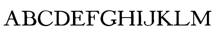Mayflower Antique Font UPPERCASE