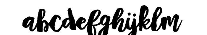 Mayton Font LOWERCASE
