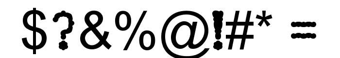 Mayuragifkas Italic Font OTHER CHARS