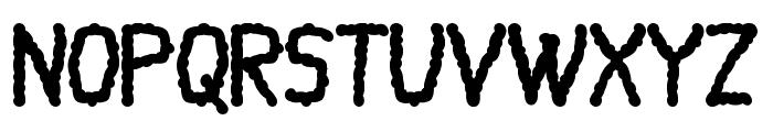 Mayuragifkas Italic Font UPPERCASE