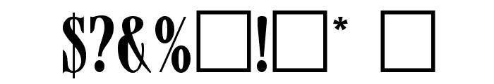 Mazam Font OTHER CHARS