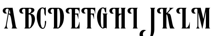 Mazam Font UPPERCASE