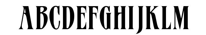 Mazam Font LOWERCASE