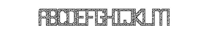 Maze Sanz Regular Font UPPERCASE