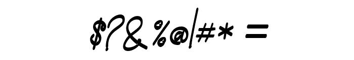 madison-Regular Font OTHER CHARS