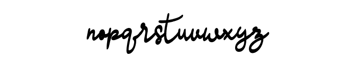 madison-Regular Font LOWERCASE