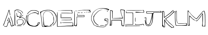 madness Font UPPERCASE