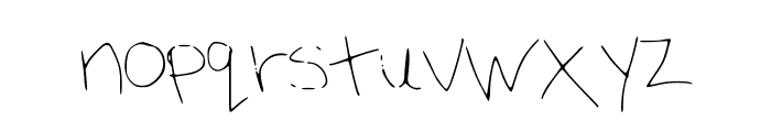 madness Font LOWERCASE