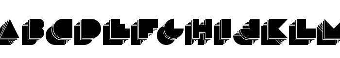 maduoETRA Font UPPERCASE