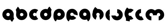 magnet Bold Font LOWERCASE