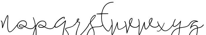 maheishia Font LOWERCASE