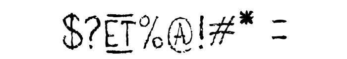 main lev?e regular1 Font OTHER CHARS
