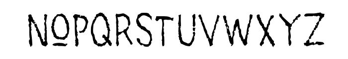 main lev?e regular1 Font UPPERCASE