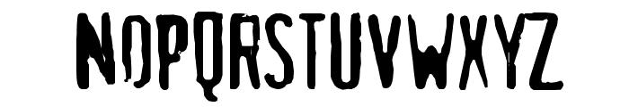 maldita Font UPPERCASE