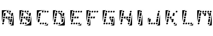 malfunction Font UPPERCASE