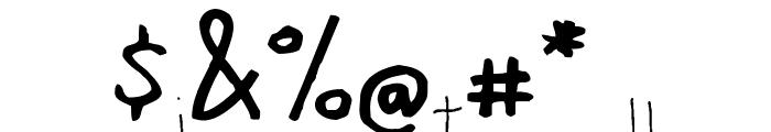 manna-saxon Font OTHER CHARS