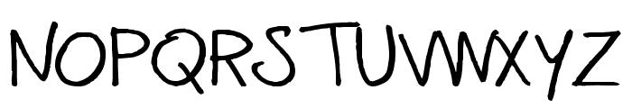 mannabay Font UPPERCASE