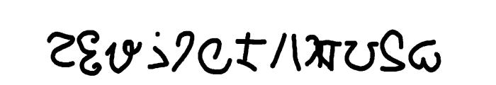 mannabay Font LOWERCASE