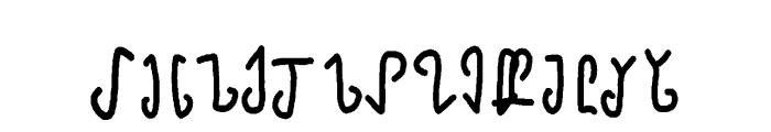mannaelegy Font LOWERCASE