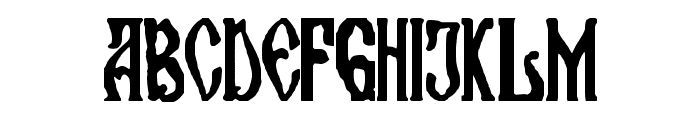 maran orthodox church Font UPPERCASE