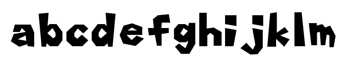 marioFont 64 Font LOWERCASE