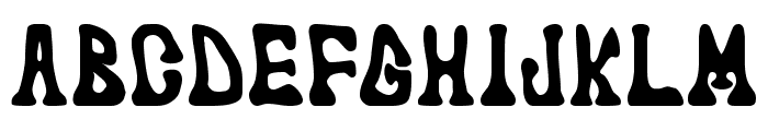 marked fool Font UPPERCASE