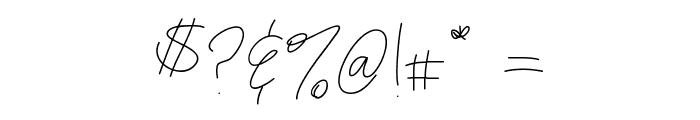 maryshandwriting Font OTHER CHARS