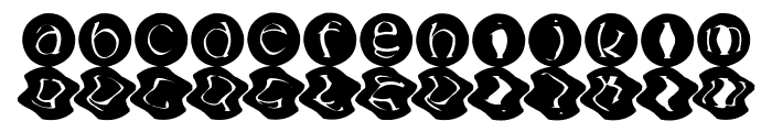 mashy-Bong---Gossip Font LOWERCASE